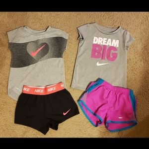 Nike DRI-FIT Outfits 4T